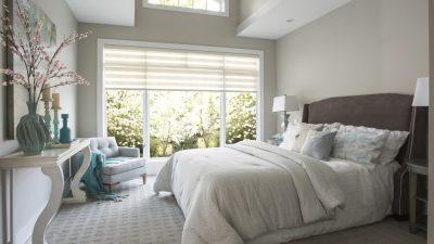 Geniş Yatak Odalarının Tasarımına Farklı Bakış Açıları