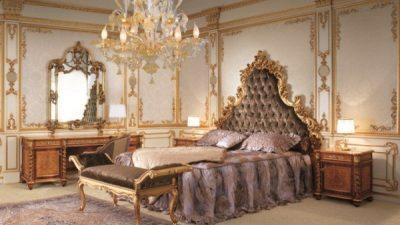 Yatak Odasında Barok Şıklığı