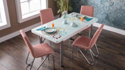 En Şık Sofraları İçin İstikbalMutfak Masası Takımları