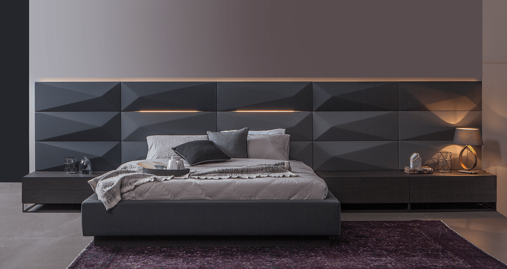 Lazzoni Mobilya Hexa Bed Yatak Odasi Dekorstore