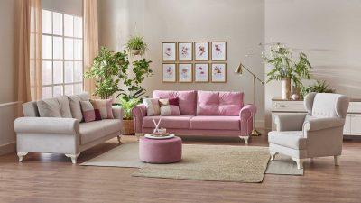 Modern Salon Dekorasyon