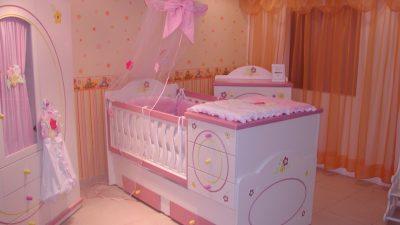 Çilek Mobilya Bebek Odası