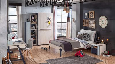 Çilek Genç Odası Black Serisi