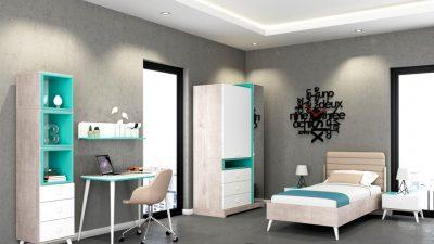 Genç Odası Mobilya Renkleri ile Doğru Tercihleri Yapın, Daha Sonra Pişman Olmayın
